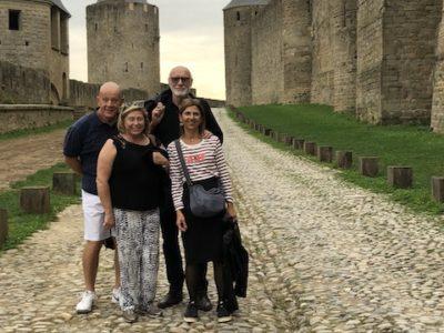 Visite de Carcassonne et Rennes le Château