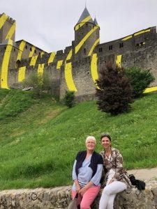 Cité Carcassonne Félice Varini
