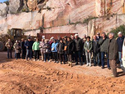 Carrière minière Aude - activité insolite Aude