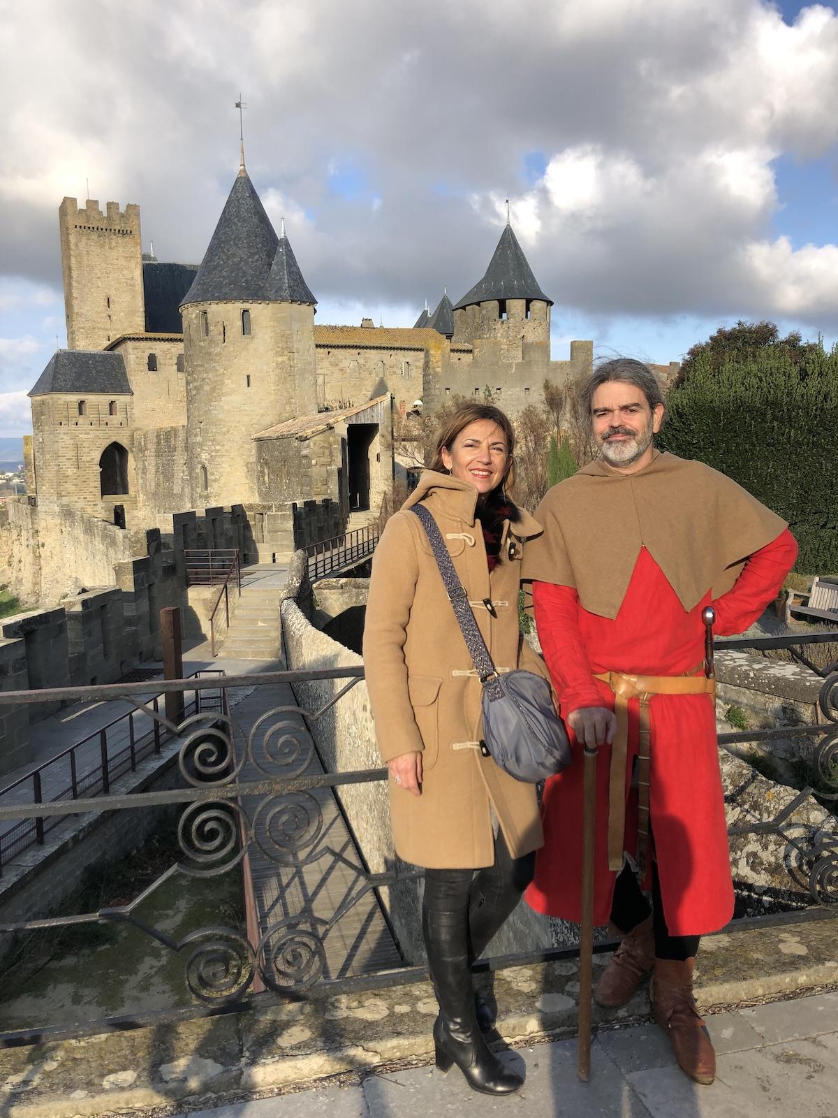 autour de la cité Carcassonne